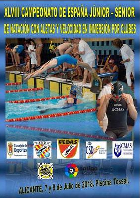 [RESULTS] – Spain Finswimming Championship 2018 Junior and Senior, Finswimmer Magazine - Finswimming News