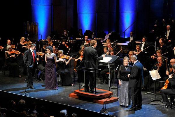 Quatuor de Rigoletto, Verdi, avec Lyne Fortin, Luc Robert et Gregory Dahl