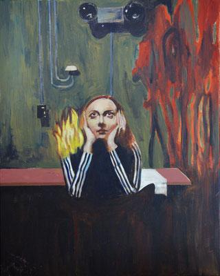 """Nicole Mahrenholtz, """" Selfcombustion"""""""