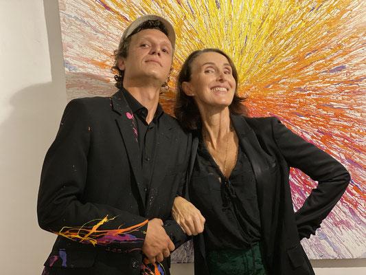 Jérémy Besset  et Valérie Bénassy-Gaidoz 2019