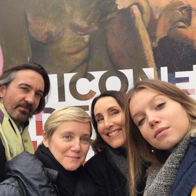 Avec Eden Ducourant, Isabelle Hugues-Roches, et Laurent Lanchantin