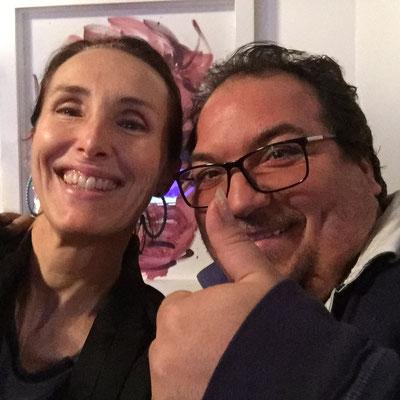 Valérie Gaidoz avec Manolo Gimenez, la voix des gypsies!  (2016)