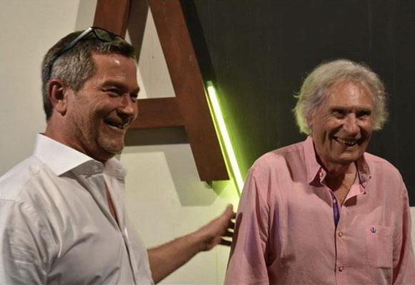 L'artiste Thierry Michelet dit Joseph et Peter Klasen