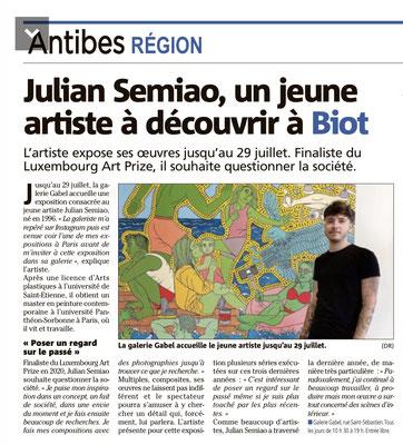 Julian Semiao exposition Galerie Gabel