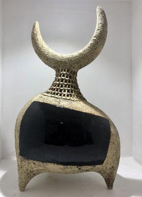 Dominique Pouchain, sculptures en céramique, galerie d'art cote d'azur, Nice, Antibes, Cannes, Saint Paul de Vence-Située à Biot village