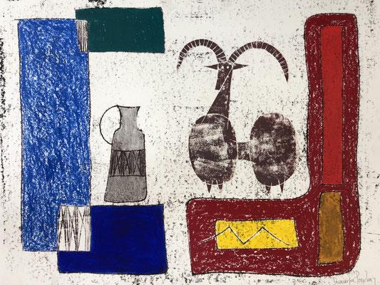 Dominique Pouchain,  dessins, galerie d'art cote d'azur, Nice, Antibes, Cannes, Saint Paul de Vence-Située à Biot village