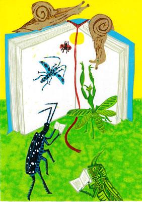 「本の虫〜集虫〜」2014