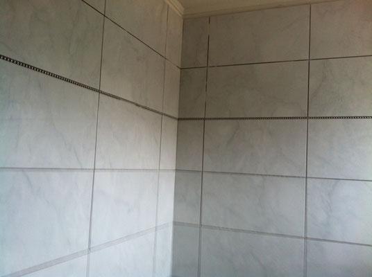 Salle de bain fa ences carreleur b ziers eric sanjuan - Grande douche italienne ...