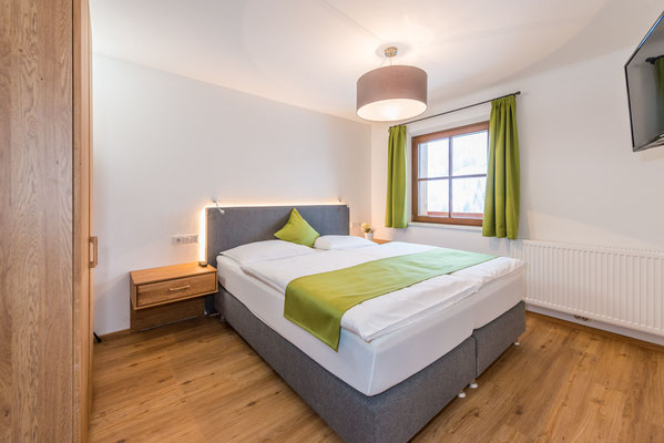 Apartment Heu Schlafzimmer