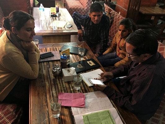 Sitzung in Kathmandu