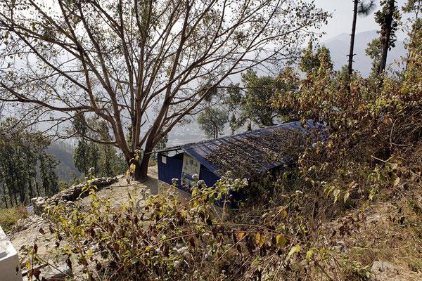 Die Dorfschule von Goganpani, idyllisch gelegen
