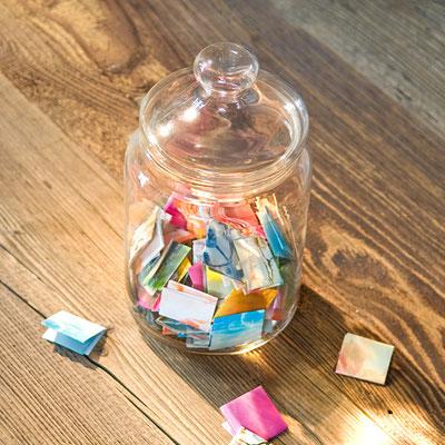 Glücksmomente-Aufbewahrungsglas im Online-Shop erhältlich!