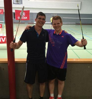 Staufenberg-Cup Heilbronn 2015 Matthias Kroll(r.) und Timo Watzka