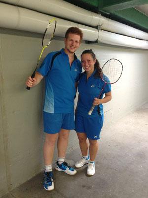 Staufenberg-Cup Heilbronn Mixed-Doppel Matthias Kroll und Sabrina Geske