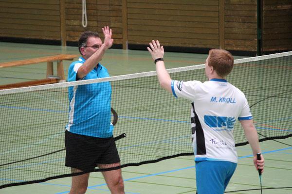 Matthias Kroll (r.) und Reinhard Schmiedl