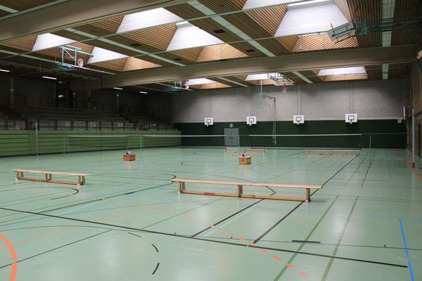 Sporthalle der DM in Mühlacker