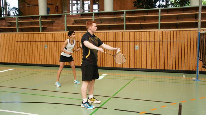 VfL Vereinsturnier 2016 Matthias Kroll und Seham Leimböck
