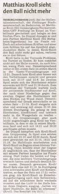 Bericht Höllental-Turnier Freiburg 2015