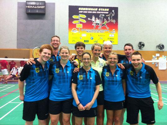 Nationallehrgang Gehörlosen-Badminton in Mülheim an der Ruhr mit Birgitt Michaels und Michael Fuchs