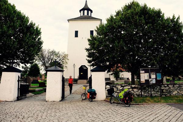 Schweden, Kattegattleden, Kirche in Onsala