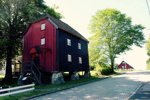 Schweden, Kattegattleden, historisches Lagerhaus
