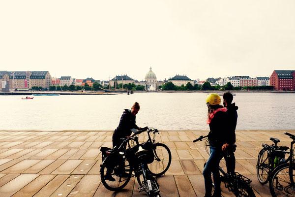 Dänemark, Kopenhagen, vor der Oper