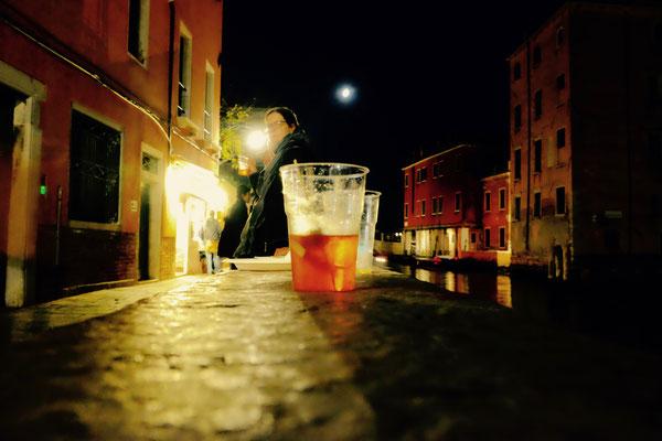 Den besten Aperol Spritz gibt es im Alsquero, Fondamenta Nani, Venedig