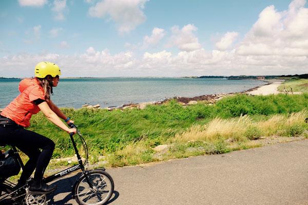 Schweden, Kattegattleden auf dem Faltrad