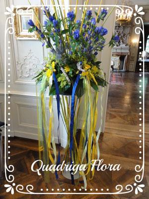 Feier Fest Meggen Luzern Blumen Flower Gesteck Strauss Bouquet