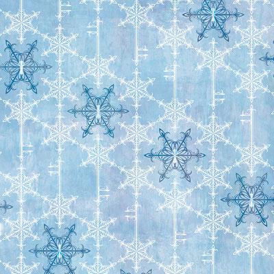 Snow crystal key