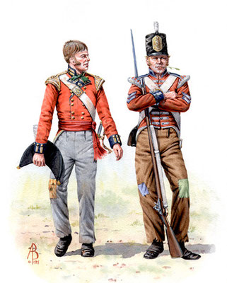 7th (Royal) Fusiliers, Albuhera.