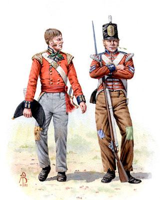 7th (Royal) Fusiliers, Albuhera.