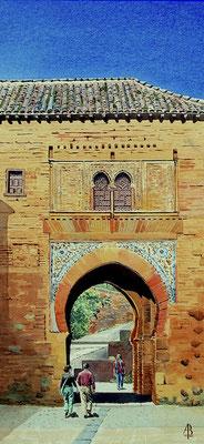 ABGC/25 - Porta del Vino, Alhambra, Spain