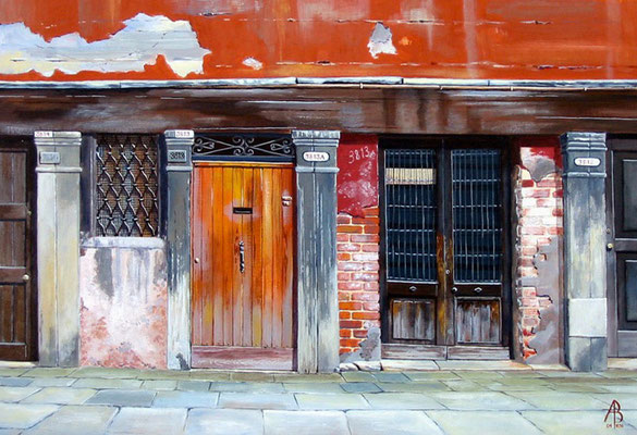Old Venetian doors - sold to private client