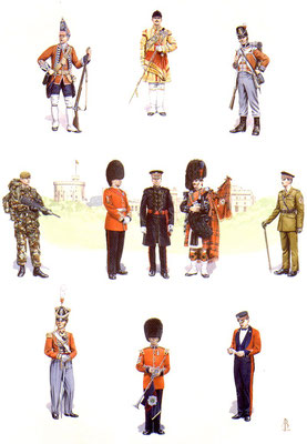 Scots Guards - official commission by the regiment