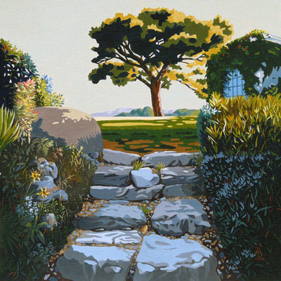 Early morning, late summer, Provence. Sold to private customer in France