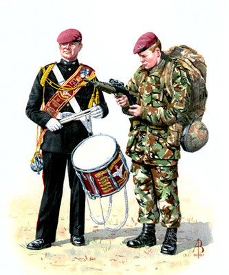 The Parachute Regiment.