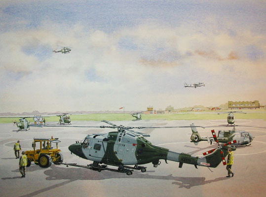 Army Air Corps, Aldergrove.  Commissioned by the Regiment.