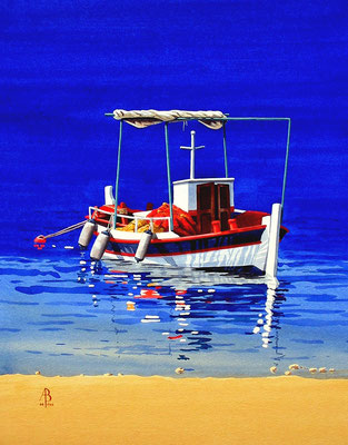 Fishing boat, Kefalonia - sold to private client