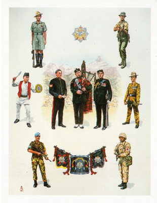 The Queen's Own Gurkha Engineers - official commission by the regiment