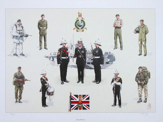 Royal Marines.  Private commission.
