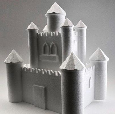 Castello piccolo per il settore del Cake design, le dimensioni si possono trovare all'interno della pagina.