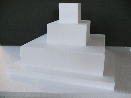 Base per torta quadrata a più piani