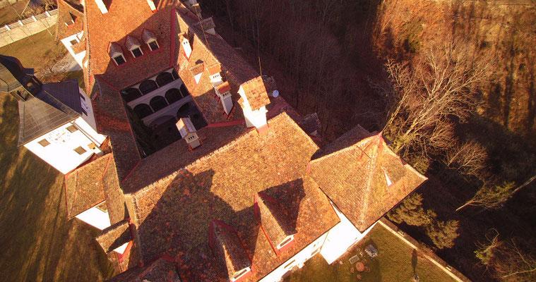 Schloss, Luftaufnahme