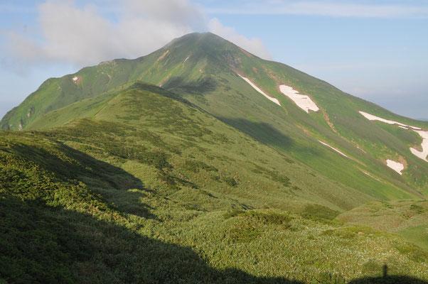 翌朝の大日岳