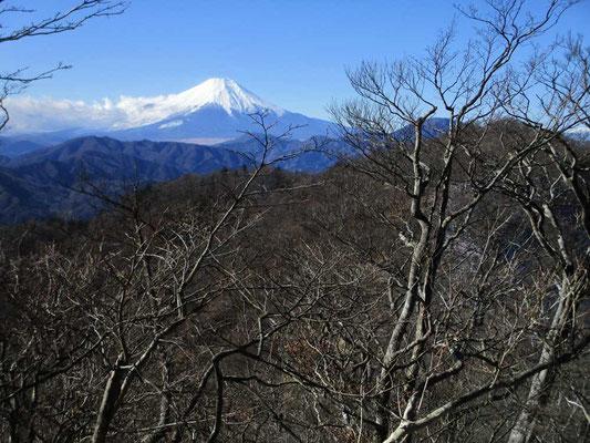 加入道山からの富士山