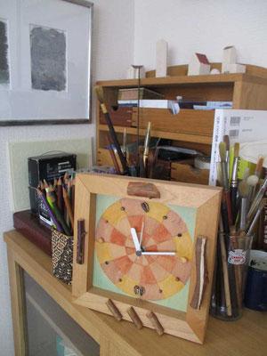 前作の時計