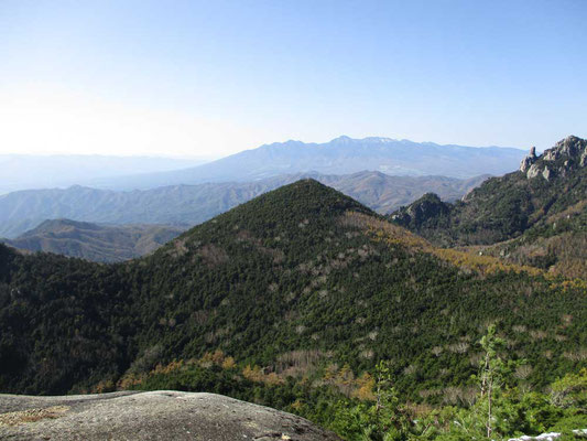 八ヶ岳が見えるところに出ます