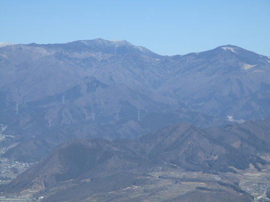 奥秩父の代表格・金峰山と北奥千丈岳