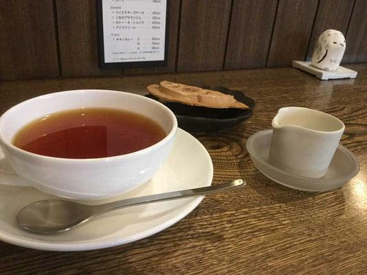 琥珀色のおいしい紅茶